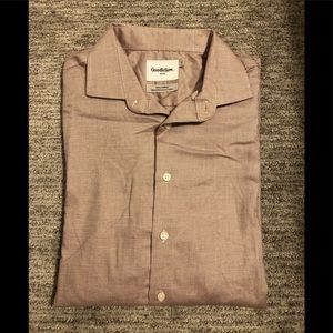 Goodfellow & Co. slim fit button down shirt. Large